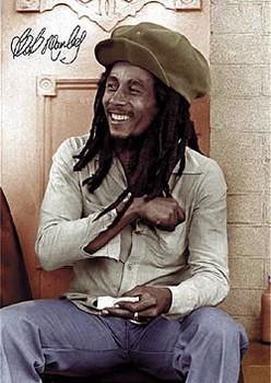 Bob Marley - rolling 2 - плакат (poster)