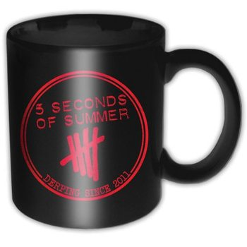 5 Seconds Of Summer – Derping Stamp bögre