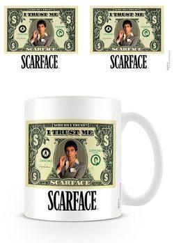 A sebhelyesarcú - Dollar Bill bögre