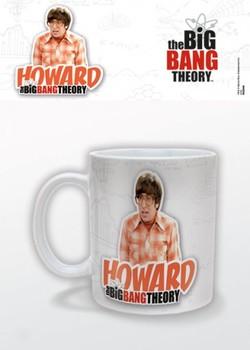 Agymenők - Howard bögre