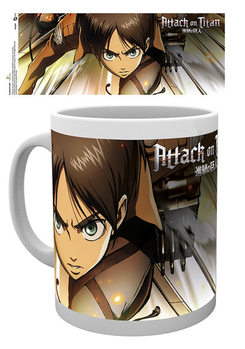 Attack on Titan (Shingeki no kyojin) - Attack bögre