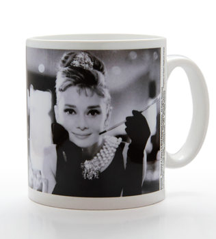 Audrey Hepburn - B&W bögre