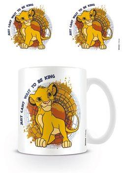 Az oroszlánkirály - Just Can't Wait to Be King bögre
