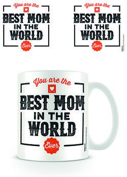 Best Mom in the World bögre