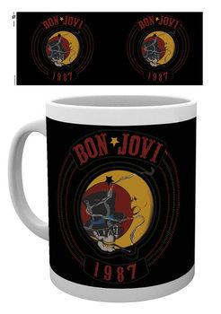 Bon Jovi - 1987 bögre