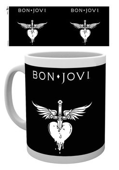 Bon Jovi - Logo bögre