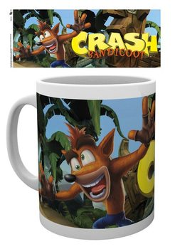 Crash Bandicoot - Logo bögre