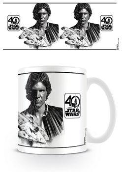 Csillagok háborúja 40th Anniversary - Han Solo bögre