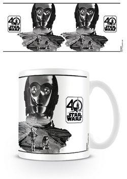 Csillagok háborúja - C-3PO (40th Anniversary ) bögre