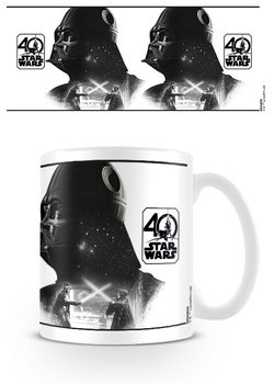 Csillagok háborúja - Darth Vader (40th Anniversary) bögre