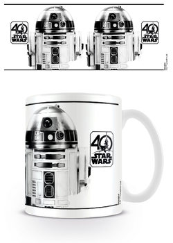 Csillagok háborúja - R2-D2 (40th Anniversary) bögre