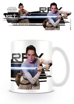 Csillagok háborúja VII (Star Wars: Az ébredő Erő)  - Rey Character  bögre