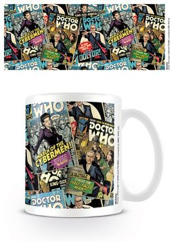 Doctor Who (Ki vagy, doki?) - Montage bögre
