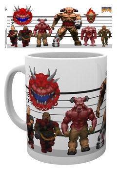 Doom - Classic Enemies bögre
