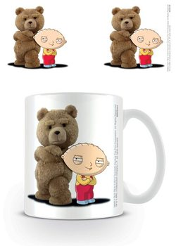 Family Guy X Ted - Stewie & Ted bögre