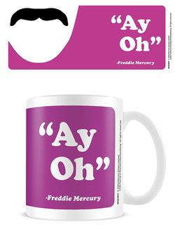 Freddie Mercury - Ay-Oh bögre