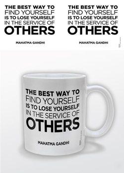 Gandhi – Service of Others bögre