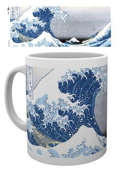 Hokusai - Great Wave bögre