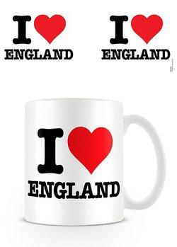 I Love England bögre
