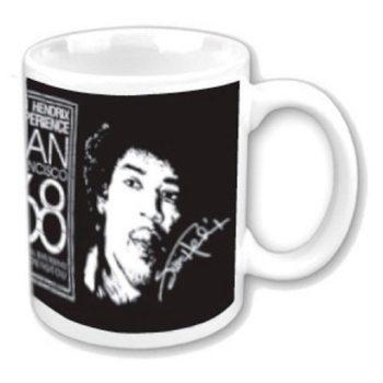 Jimi Hendrix - San Francisco 68 bögre