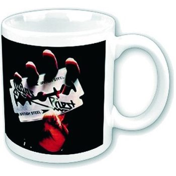 Judas Priest –  British Steel bögre