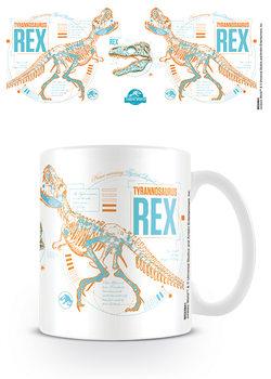 Jurassic World: Bukott birodalom - T Rex Stats bögre
