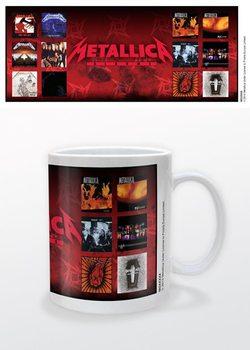 Metallica - Albums bögre