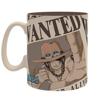 One Piece - Wanted Ace bögre