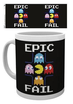 PACMAN - Epic Fail bögre