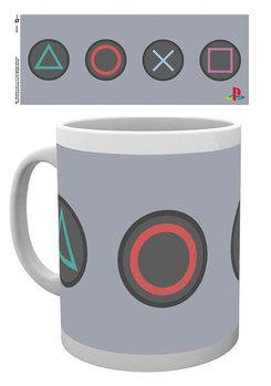Playstation - Buttons bögre