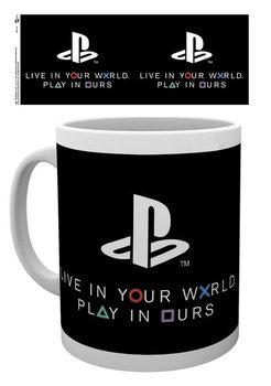 Playstation - World bögre