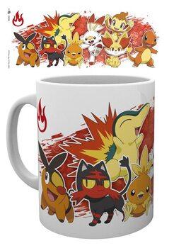 Csésze Pokemon - First Partners Fire