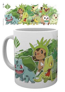 Csésze Pokemon - First Partners Grass