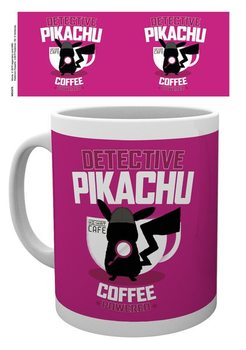 Pokemon: Pikachu, a detektív - Coffee Powered bögre
