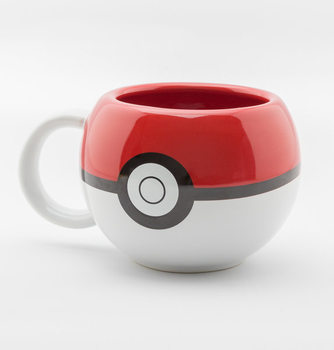 Pokemon - Pokeball 3D bögre
