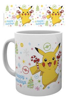 Pokemon - Xmas Pikachu bögre