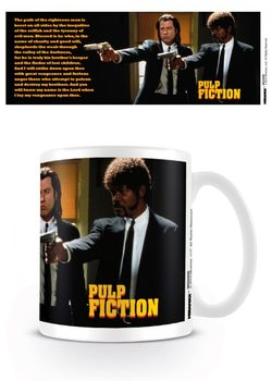 Pulp Fiction - Guns, Vincent and Jules bögre