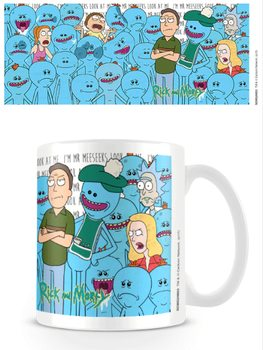 Rick and Morty - Jerry and Mr Meeseeks bögre