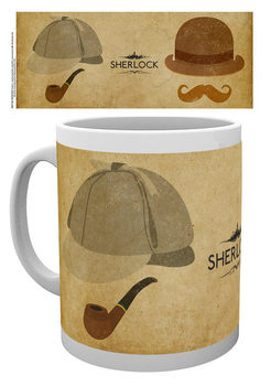 Sherlock - Icons bögre