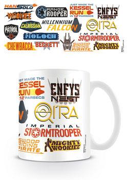 Solo A Star Wars Story - Bumper Stickers bögre