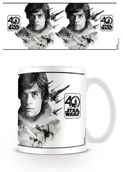 Star Wars 40th Anniversary - Luke Skywalker bögre