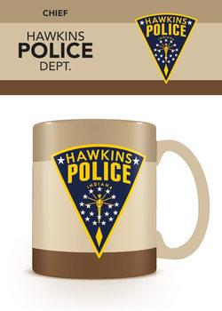 Stranger Things - Hawkins Police bögre