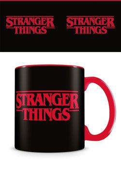 Csésze Stranger Things - Logo