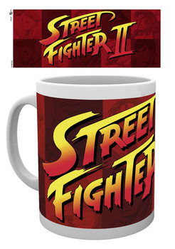 Street Fighter - Logo bögre