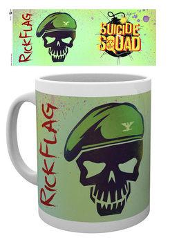 Suicide Squad – Öngyilkos osztag  - Flag Skull bögre