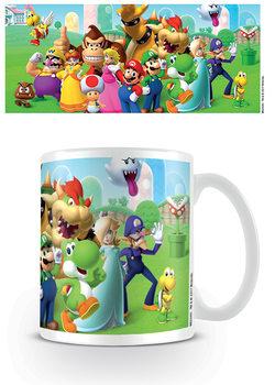 Super Mario - Mushroom Kingdom bögre