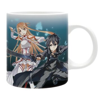 Csésze Sword Art Online - Asuna & Kirito