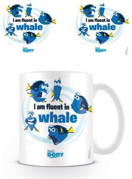 Szenilla nyomában - I Am Fluent In Whale bögre