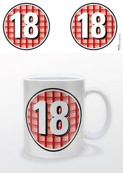 Születésnap - 18 Certified bögre