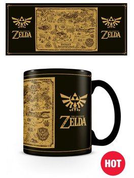 The Legend Of Zelda - Map bögre
